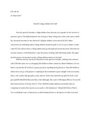 Rogerian Argument (Final Draft)