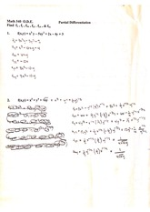 partial differential homework