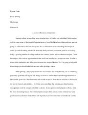 Rysean Grant compare and contrast essay writing.docx
