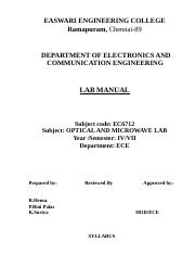 EC6712  optical Mwave lab manual(1).doc