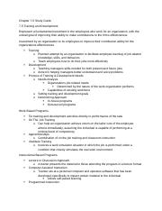 MGMT 3700_31 Exam 2 Study Guide