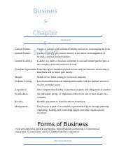 Business chapters 5,7,10.docx