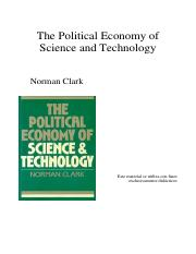 Clark, N.  (1985) The political economy of Science and Technology (Cap. 1).pdf