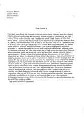 africana studies essay: what i learned in africana studies