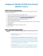 reflection journal modules 1 2 Journal for reflective writing assignments (instructor annotates and uses to prepare mini-lectures) thu, 24 sep 2015, 1:42 am: journal module for moodle 29:.