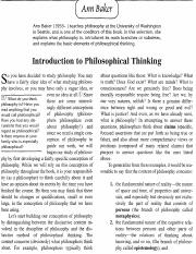 Baker - Introduction to Philosophical Thinking.pdf