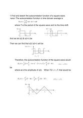 squarewaveautoaorrelationExam_Solution
