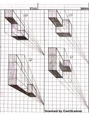 1 & 2 point perspective