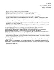Chapter 12 assessment questions Joey McNew