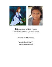 Princesses of the Poor.doc