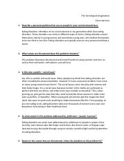 The Sociological Imagination Questions.docx