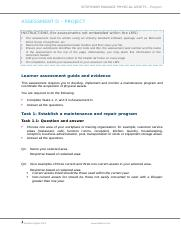 SITXFIN005_Assessment D_Project_ANSWER_V1-0.docx