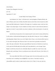 Alexis Bartley_LIT 319_Journal Masks in the taming of shrew.docx