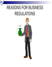 Reasons for Regulations.ppt