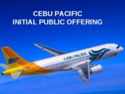 CebuPacvaluation