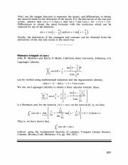 proof of rieman integral of cosine