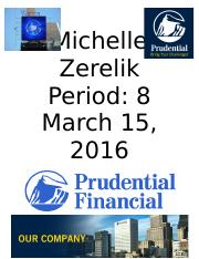 prudential financial .docx
