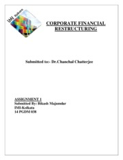 CORPORATE FINANCIAL RESTRUCTURING assignment.pdf