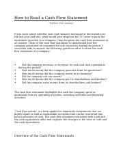 How to Read a Cash Flow Statement.docx