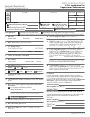 i-765 - OMB No 1615-0040 Expires I-765 Application For Employment ...