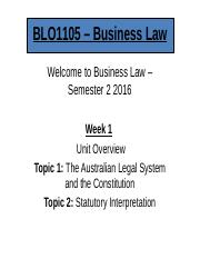 BLO1105 Week 1 Lecture Slides (Malaysia)