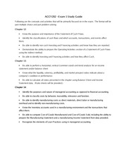 ACCY202 Exam 1 study guide