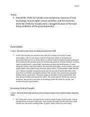 grade 10 canadian history essay questions