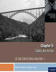 cables and arches ch 5