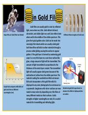 Thin Gold Films
