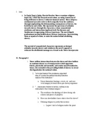 English 103A Research Paper Outline