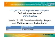 Doc4-LTE Workshop_TUN_Session3_LTE Overview