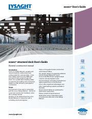 3 Use LYSAGHT BONDEK software to design formwork spans with