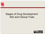 08   IND and Clinical Trials F