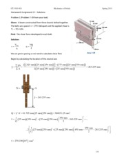 HW #15 Solutions