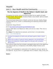 103_The_Six_Aspects_of_Health_and_the_Nations_Health_Goals_and_Objectives