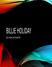 Billie holiday.pptx