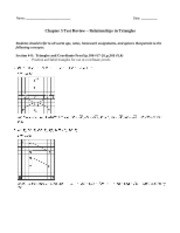 Ch5 Test Review (2013) ANSWERS