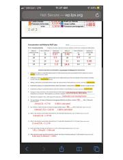 Molarity Phet Lab Answer - Concentration and Molarity PhET ...