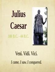 The Tragedy of Julius Caesar Introduction Students.pptx
