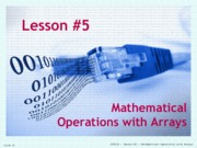 05-Math_Arrays