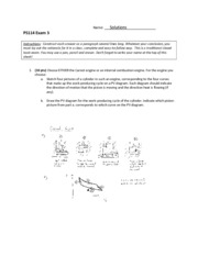 PS114 Exam 3 solutions