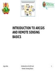 Introduction_to ArcGIS and Remote sensing Basics_edited