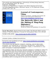 Zhaohui Hong_The Butterfly Effect and the Making of Ping-Pong Diplomacy (2).pdf