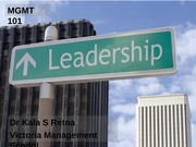 Lect 4 Leadership -21 Mar 2012 - BB notes