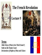History 101 Lecture 9