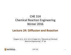 CHE 314_L24_Diffusion and Reaction_fnl