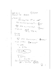 PHYSCS 31 F07 lecture notes: Supplementary math tutorial: methods of approximation