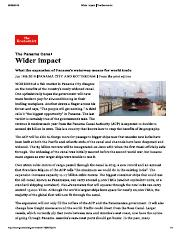 Wider impact _ The Economist