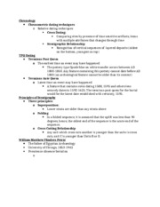 chronometric dating anthropology Chronometric dating relative dating, chronometric dating start studying anthropology terms - chapter 5 learn vocabulary.
