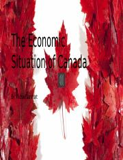 The Economic Situation of Canada.pptx
